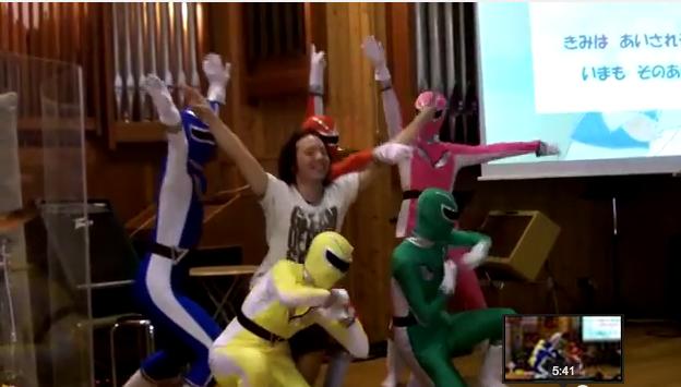 2014年9月21日福音戦隊GCレンジャー再び登場!